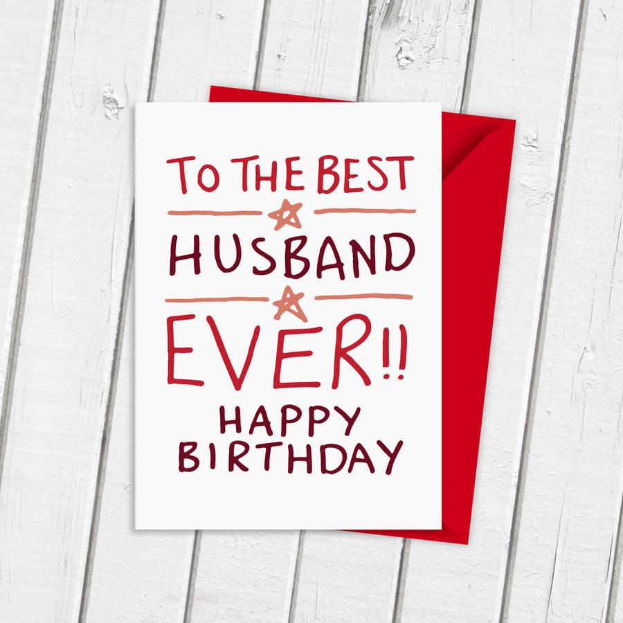 Happy birthday card for husband hubby birthday card birthday card for husband m4hsunfo