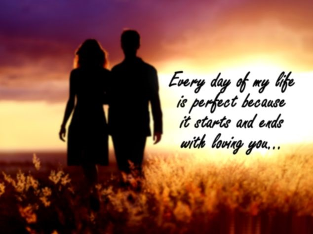 Romantic love quotes for husband from wife