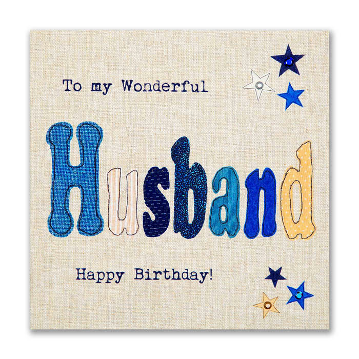 Happy Birthday Card for husband