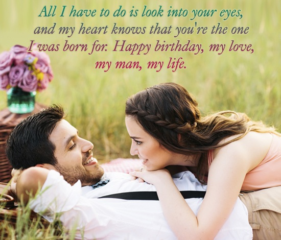Romantic Birthday Messages for Husband Images
