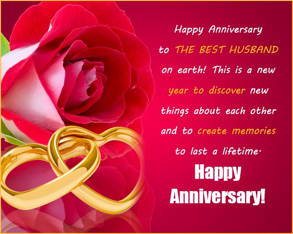 Wedding Anniversary Wishes For Husband Lovely Messages